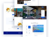 Hotel Agency Landing Page Concept