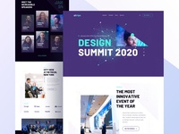 Landing Page for Event.