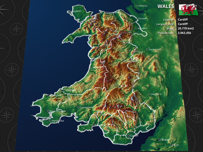 Wales by dorusoftware Dribbble