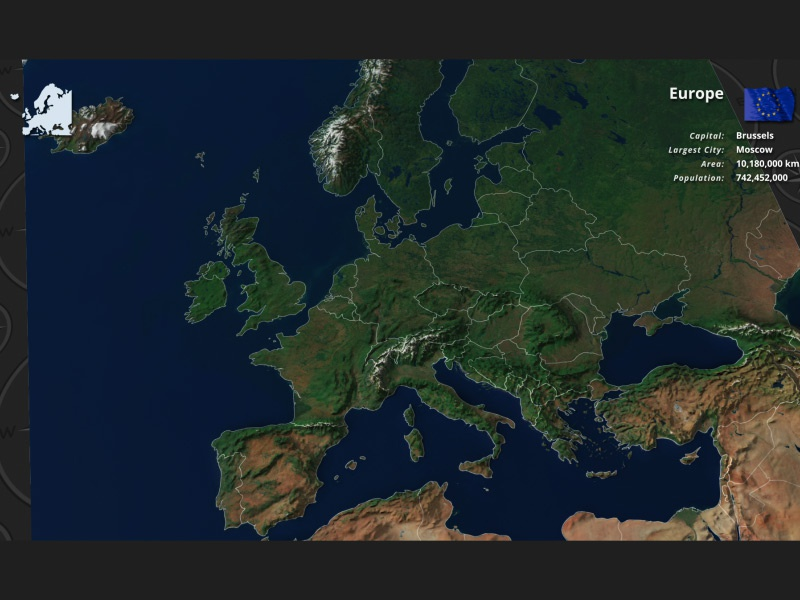 Europe Satellite View for After Effects by doru on ... on world map of europe, road map of europe, aerial view of europe, wire map of europe, wales map of europe, satellite wallpaper, mexico of europe, topographic map of europe, full map of europe, germany of europe, blank map of europe, asia of europe, home map of europe, relief map of europe, climate map of europe, military map of europe, canada of europe, winds of europe, google maps europe, physical map of europe,
