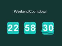 Daily UI 014: Countdown