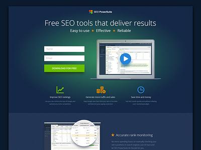 Landing Page webdesign seo web design website page landing