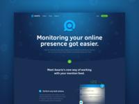 Awario Landing Page