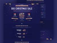 Landing Page Design for SEO PowerSuite Christmas Sale