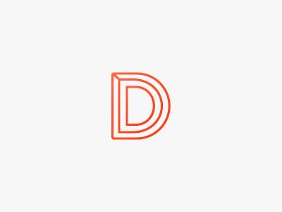 Identity WIP identity logo orange minimal clean grey brand branding flat