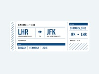 Heathrow to JFK Plane Ticket