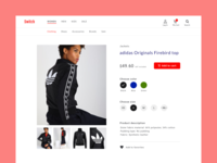 Online Shop Product & Category Page