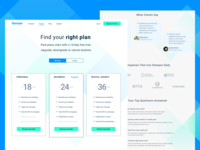 Pricing Page Design