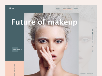 Makeup Company Landing Page