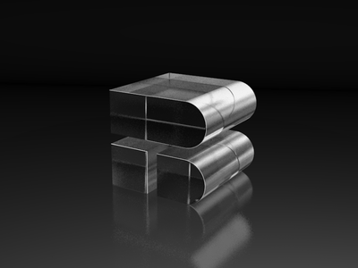 BT 3dfordesigners branding logo mark lighting materials cinema4d 3d