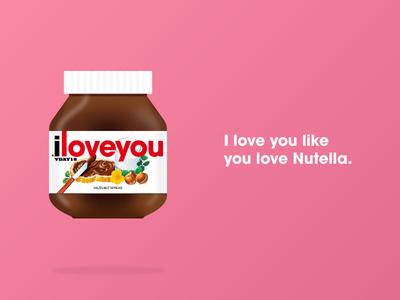 Nutella Valentine