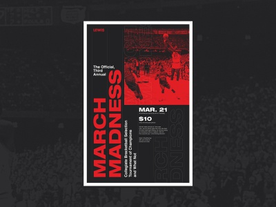 March Madness 2019 jordan goat halftone grid typography college hoops march madness basketball
