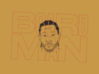 Kawhi Leonard a.k.a. Board Man