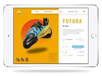 La Sportiva E-Commerce Redesign