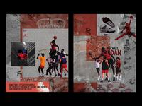Air Jordan 4 Poster 1989 — Personal Project
