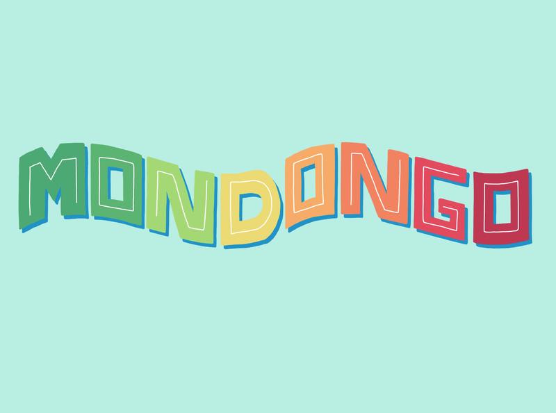 Mondongo digital prints handlettering soup mondongo