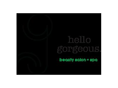 Hello Gorgeous Beauty Salon + Spa logo spa salon beauty gorgeous hello