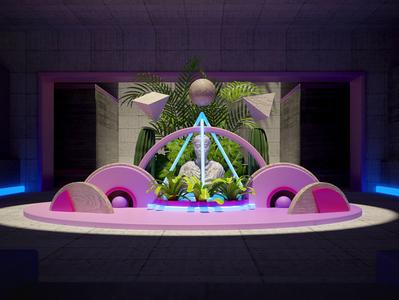 Cymetria photoshop cinema4d artdigital design 3d graphics digitalart debut colors artdirection