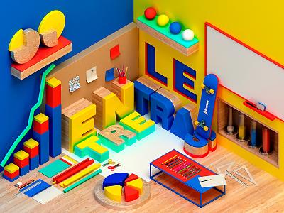 N O R M A photoshop cinema4d artdigital design 3d graphics digitalart colors artdirection debut