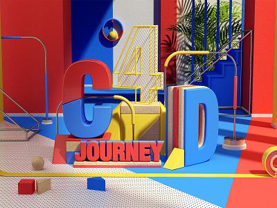 C4D c4d motion cinema4d artdigital 3d graphics digitalart colors artdirection debut