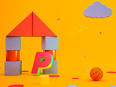 Ipe tv motion graphics digitalart design debut colors artdirection artdigital animation 3d