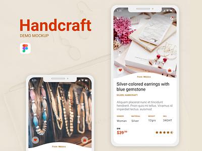 Detail App retail android ios app ui