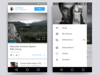 Gopro Redesign - Android Flow