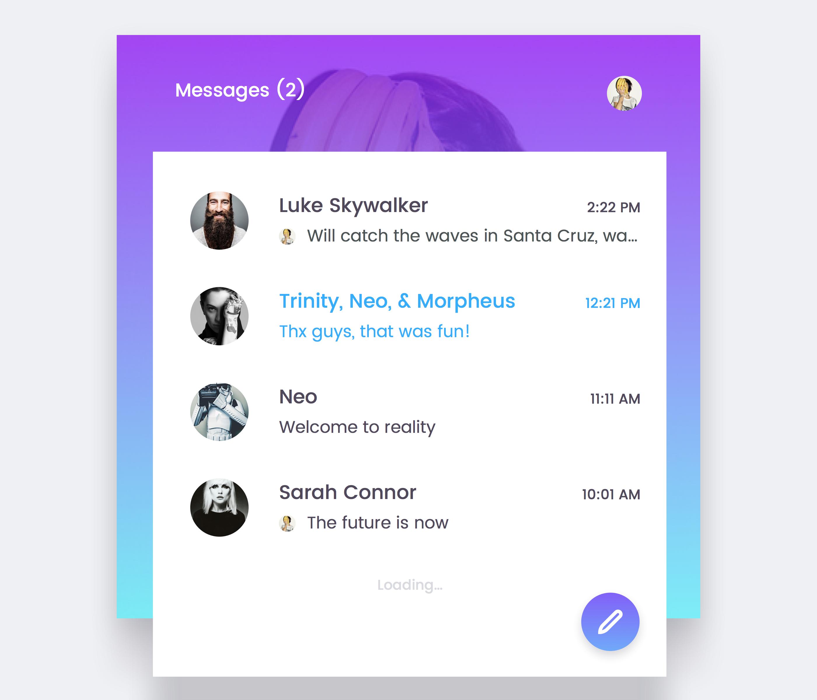 Messenger realpx 2x