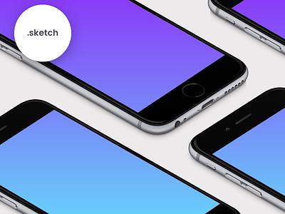 FREEBIE | MagicMirror mirror magicmirror download iphone6s iphone mockup mockups perspective sketch free freebie