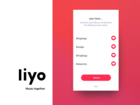 Liyo 2 | Trailer ui ux on boarding social live redesign ios app chat music liyo.io liyo