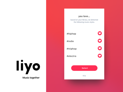 Liyo 2 | Trailer ui ux on boarding social live redesign ios app chat music liyo.io liyo