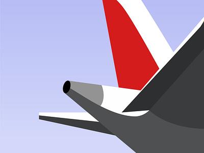 Flight logo design