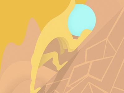 Sisyphus logo design