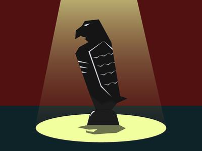 Maltese Falcon logo design