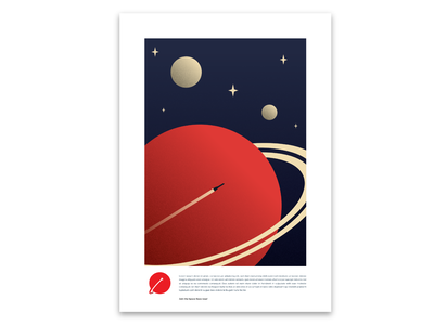 Space Race logo design