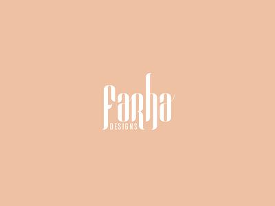 Farha Fashion Design new branding design creative fashion logo fashion design fashion logo fashion brand