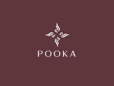 Pooka graphic icon corporate identity illustration new cool design creative branding logo hookah shisha
