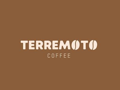 Terremoto Coffee design new creative brand identity logo branding coffee