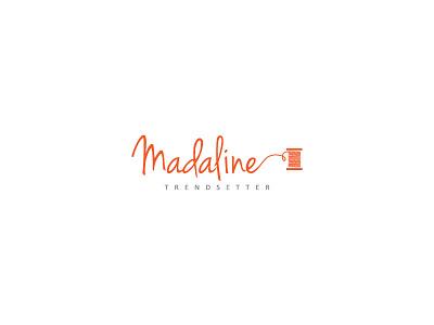 Madaline new fabric branding logo creative