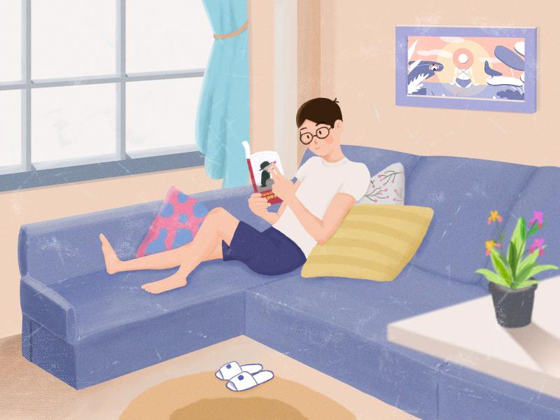 My First Illustration illustration