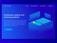 Website error monitoring platform