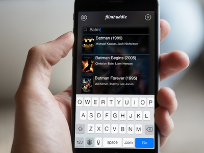 Filmhuddle - Search