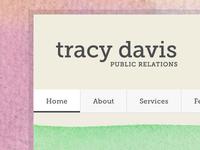 Tray Davis PR Website