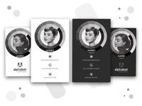 Audrey Hepburn Business Card