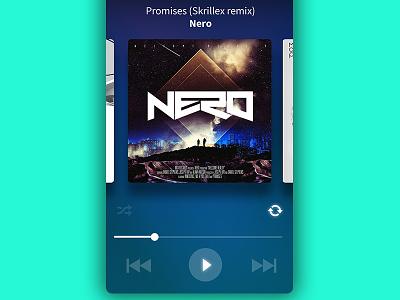 #009 MUSIC PLAYER #DailyUI ui app music