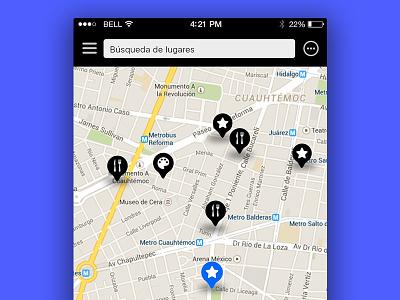 #029 #DailyUi map hint map conceptual