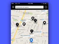#029 #DailyUi map hint