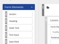 Electronic Form Builder