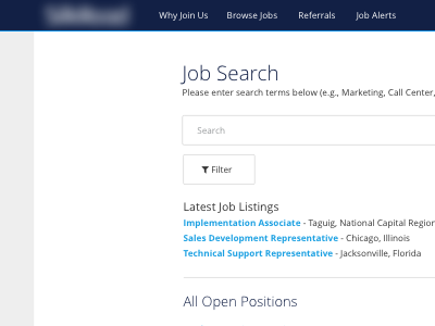 Career Portal hr software career portal