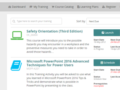 Learning Management learning hr software